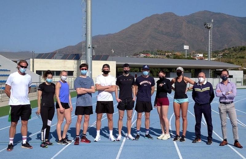 Ett flertal svenska friidrottare har valt Estepona för att förbereda sig för diverse internationella tävlingar. Foto: Ayuntamiento de Estepona