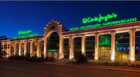 Köpcentret El Capricho, som ägs av El Corte Inglés, kommer att hyras ut till ett svenskt telemarketingföretag. Endast livsmedelsdelen består som idag.