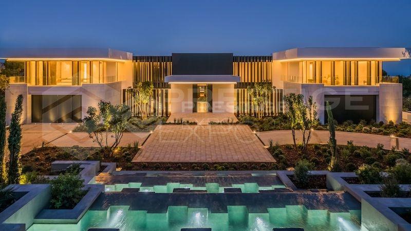 Villa Cullinan, som låg ute för 32 miljoner euro har precis sålts. Foto: Prestige Expo
