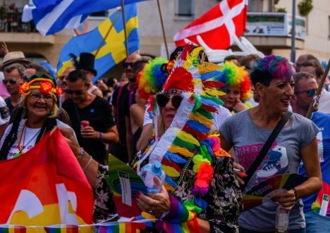 Pridefestivalen i Torremolinos hålls i år utan parad. Bilden är från 2018.