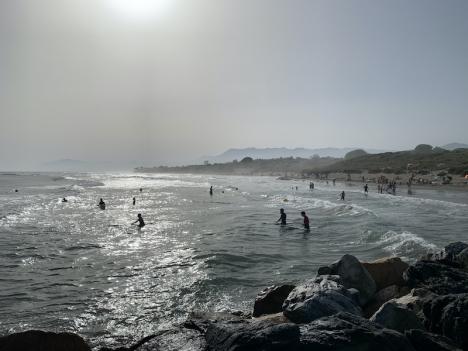 Händelsen inträffade mellan Cabopino och Costabella i Marbella.