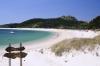 Playa de Rodas i Galicien.