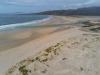 Playa de Carnota i Galicien.