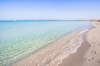 Playa de ses Illetes på Balearerna.