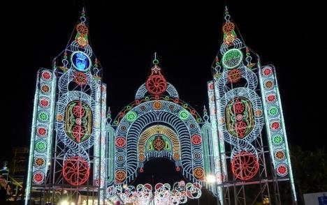 Ferian i Estepona ska hållas 6 till 11 juli med ett strikt protokoll för säkerheten. Foto: Ayuntamiento de Estepona