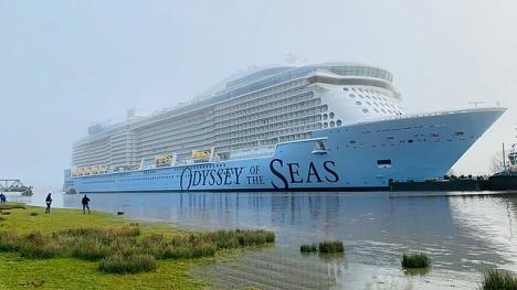 Ombord på kryrssningsfartyget Odyssey of the Seas finns endast anställda till Royal Caribbean. ARKIVBILD