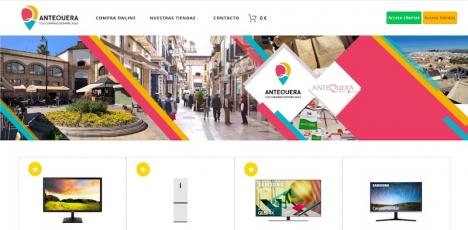 Än så länge har inte så många företagare anslutit sig, men portalen compraenantequera.com är gratis för alla näringsidkare i kommunen. Foto: Ayuntamiento de Antequera