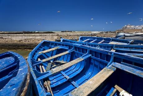 Marocko förefaller ha skärpt bevakningen vid sitt eget kustband.