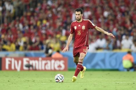 Busquets är en av de mer namnkunniga spelarna i den revolutionerade spanska EM-truppen och en av de få kvarvarande som vann VM-titeln 2010.