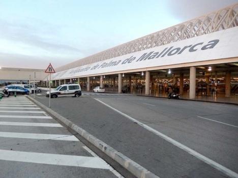 Planet skulle lyfta från Mallorca med destination Alicante.
