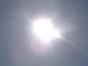 I inlandet kan det idag bli upp till 33 grader i skuggan.
