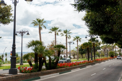 Trafikkameror och rörelsesensorer ska förbättra trafikflödet och minska olyckorna i Estepona centrum.