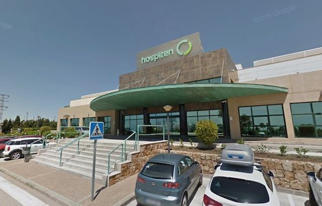 Privatsjukhuset Hospiten i Estepona. Foto: Google Maps