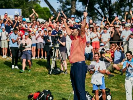 Jon Rahm är den förste spanjoren som lyckats vinna US Open i golf, i dess 121:a upplaga.
