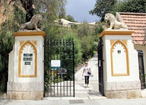 Engelska kyrkogården i Málaga är Spaniens äldsta protestantiska kyrkogård och här vilar bland annat flera dussin nordbor.