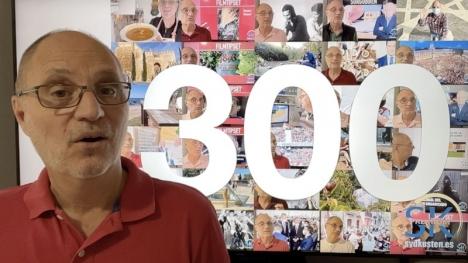 I veckan publicerades det 300:e vlogginlägget av