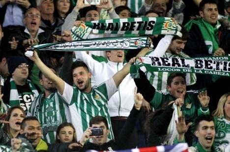 Den sista matchen inför full publik i Spanien spelades i Betis hemmaarena Benito Villamarín i Sevilla, 8 mars 2020.