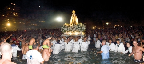 Det högtidliga firandet av havets jungfru Vírgen del Carmen uteblir för andra året i rad. Foto: Fuengirola kommun