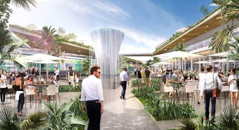 Marbella Plaza beräknas stå klart till jul 2023.
