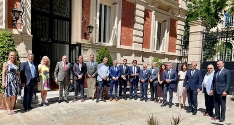 Svensk-Spanska Handelskammarens nya klubb för företagsledare, hade sitt första möte 13 juli i Madrid. Foto: Svensk-Spanska Handelskammaren