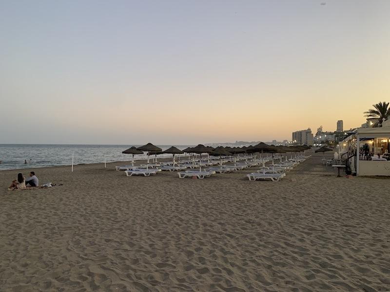 Samtliga stränder på Costa del Sol berörs av stängningsordern nattetid.