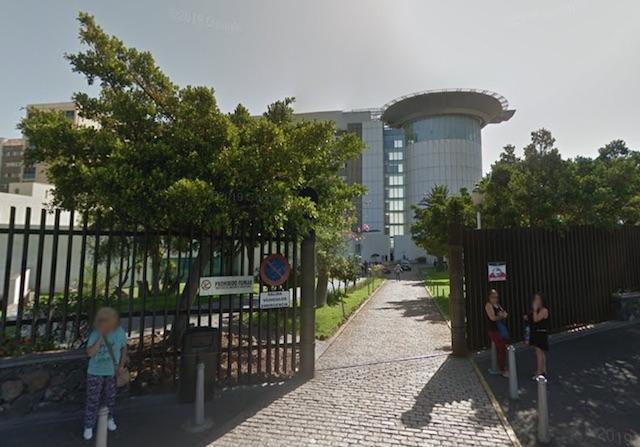 Tenerife upptar 71 procent av alla inlagda Covid-patienter på öarna. Foto: Google Maps