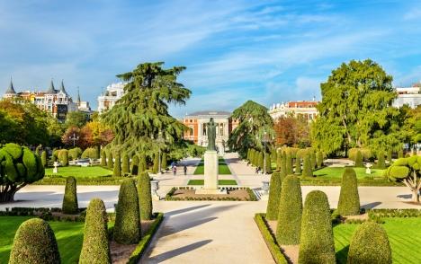 Parken El Buen Retiro i Madrid ingår i UNESCO:s världsarv sedan 25 juli.
