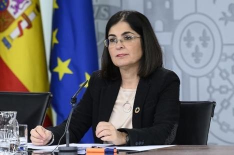 Hälsovårdsministern Carolina Darias tror att Spanien står inför en positiv trendförändring.