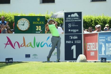 Sergio García, trippelvinnare av  Estrella Damm N.A. Andalucía Masters. Foto: Real Club Valderrama