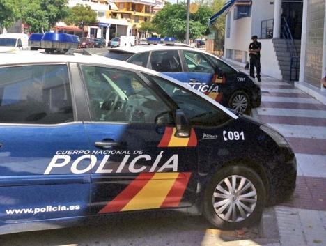 Polisresurser ska ha brukats otillbörligen för att spionera på en mäklare i Marbella.