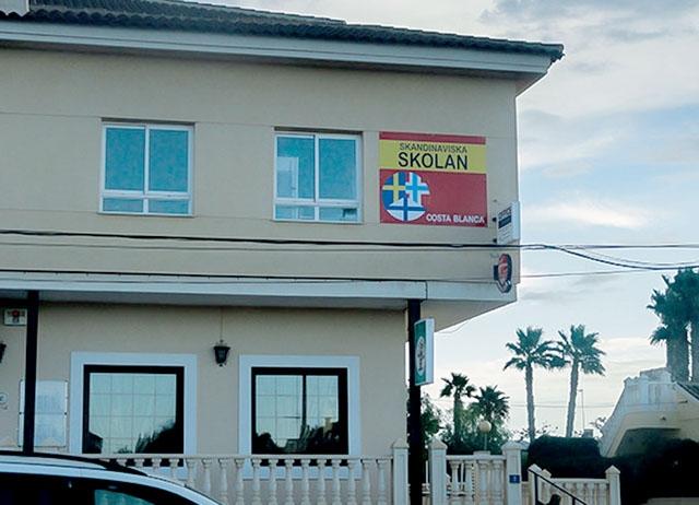 Skandinaviska skolan i Orihuela Costa har sedan 1 juli ny ägare och huvudman. Foto: SSCB