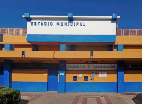 Den nuvarande idrottsarenan är stängd sedan maj månad och väntas rivas 2023.