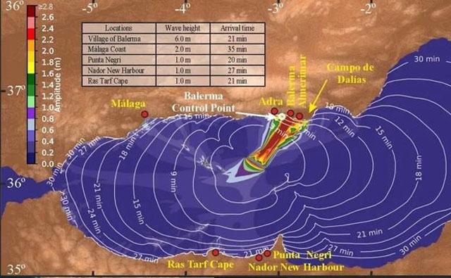 Enligt en färsk studie kan Costa del Sol drabbas av en tsunami med endast 21 minuters varsel. Bild: CSIC