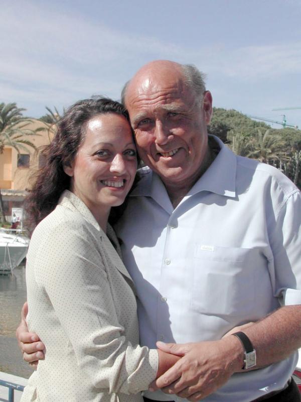 Oldsberg och hans sambo Pauline Wood vill leva halvårsvis i Spanien. Foto: Eva Österlind