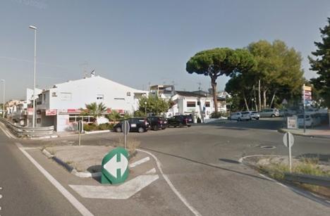 Rånoffret jagade ikapp tjuvarna i Elviria (Marbella) och återfick sitt armbandsur, värderat till 30.000 euro. Foto: Google Maps