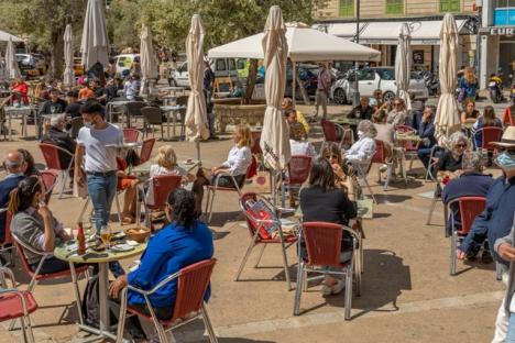 Enligt de regionala hälsovårdsmyndigheterna har smittspridningen bland turister på Balearerna varit minimal.