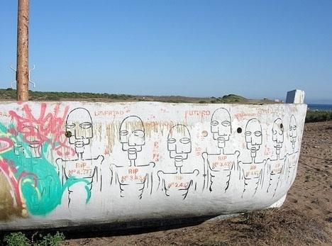 Antalet omkomna flyktingar utanför Kanarieöarna i en enskild månad saknar motsvarighet. Foto: Cruz Roja Española