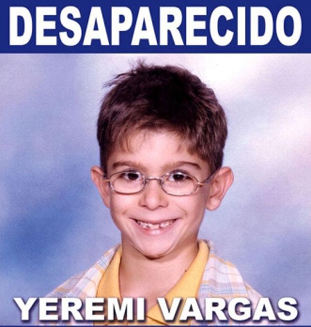 Den då sjuårige pojken Yeremi Vargas försvann spårlöst 10 mars 2007, vid området Vecindario på Gran Canaria.