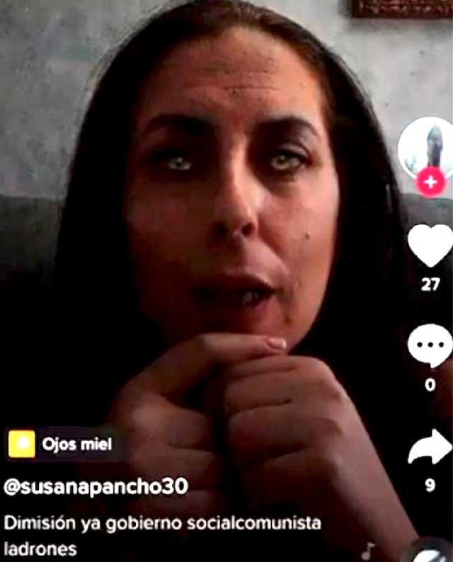 Kommunalrådet i Moguer Susana Pancho har tagit ned videon och bett om ursäkt, men tänker inte avgå.