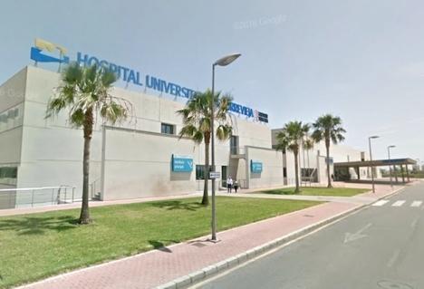 Sjukhuset i Torrevieja. Foto: Google Maps