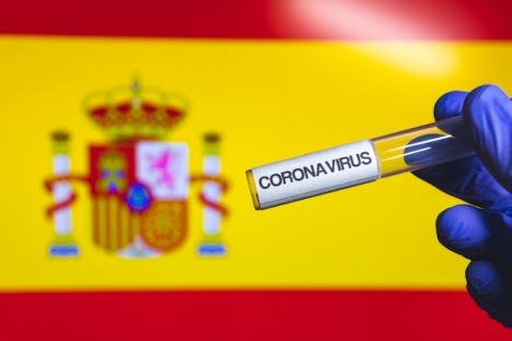 Efter två och en halv månads stabil nedgång har smittfrekvensen i Spanien åter stigit något.