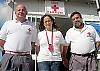 Röda Korset i Barbate har tre fast anställda, verksamhetsansvarig Manuel Fénix, sjuksköterskan Aurora Hernández och chauffören Vicente Salvatierra. I Barbate finns dessutom 140 volontärer.
