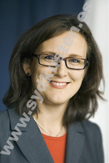 """Sveriges EU-minister Cecilia Malmström besökte Spanien 13 och 14 november. Hon har själv bott i Barcelona och vill jobba för ett ökat samarbete mellan länderna. """"Särskilt viktigt är det då Spanien tar över ordförandeskapet i EU efter Sverige i januari 2010""""."""