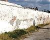 Tusentals regimmotståndare avrättades vid den gamla kyrkogårdsmuren.