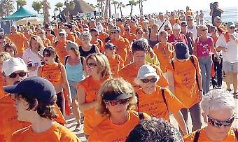 Cudecas årliga insamlingsevenemang Walkathon 2008 är denna gång viktigare än någonsin, då patientavdelningens framtid står på spel. Foto: Cudeca