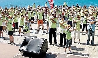 Årets Walkathon samlade 24 maj nära 800 deltagare.