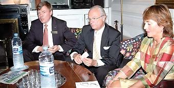 Björn O. Nilsson, VD för Kungliga Ingenjörsvetenskapsakademien (IVA) är imponerad av spanjorernas arbete inom flera områden, bland annat satsningen på snabbtåg och solenergi. Sydkusten träffade honom på Svenska ambassaden i Madrid, tillsammans med kung Carl Gustaf och delegationens ledare, professor Lena Treschow Torell.