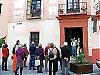 Sydkusten besökte glasmuseet i samband med sin tvådagarsresa till Málaga.
