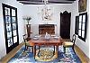 Museo del Vidrio är ett museum men också Gonzalo Fernández-Prietos hem. Här höll han middag för 24 gäster i julas.