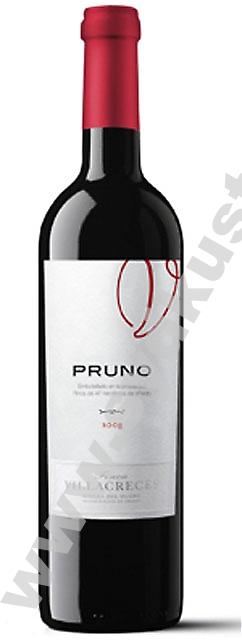 Finca Villacreces Pruno 2008 från Ribera del Duero är gjort på bodegans yngre druvor.